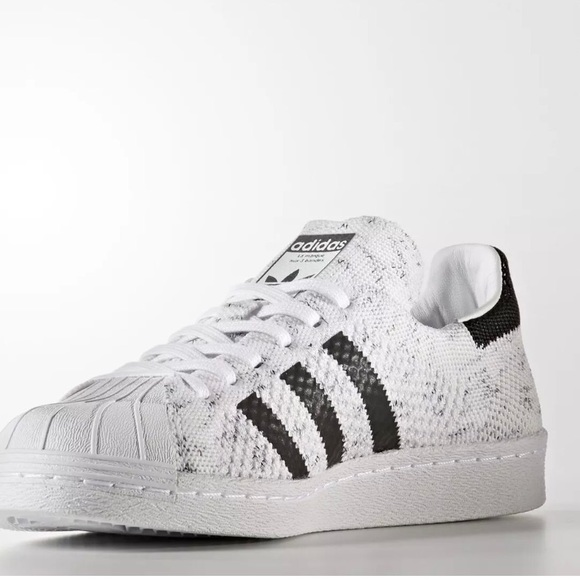 online store 41fd7 4b3d5 Adidas 7.5 Originals Women Superstars 80 Primeknit